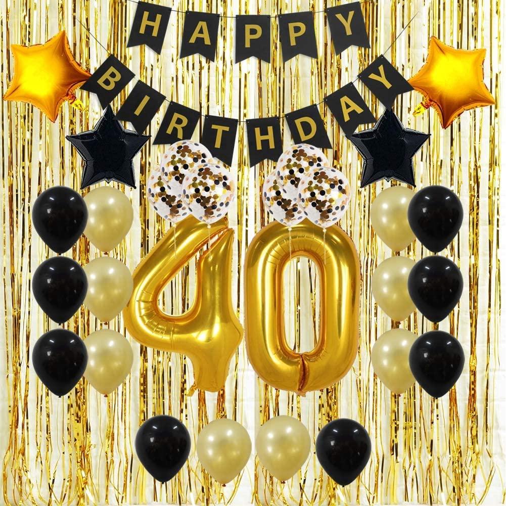 1. 40th Birthday Decorations