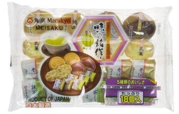 5-Style Traditional Japanese Mini-Confectionery