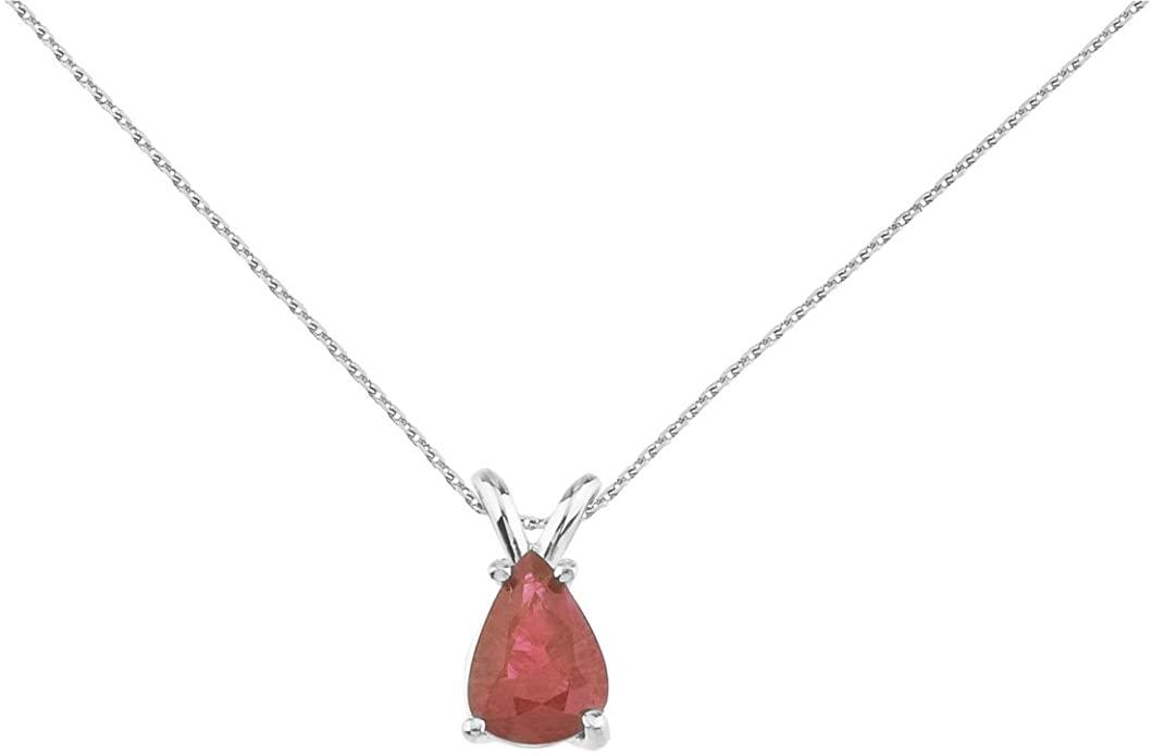 6. Gemstone pendant (0.7 carat)
