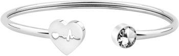 WUSUANED Dainty Heartbeat Stethoscope Cuff Bracelet