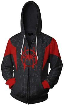 3D Printed Spiderman-themed Hoodie