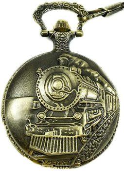 Historical Train Pocket Watch