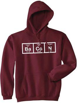 Chemistry of Bacon Hoodie