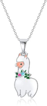 Vinjewelry Little Girls Beautiful Pendant