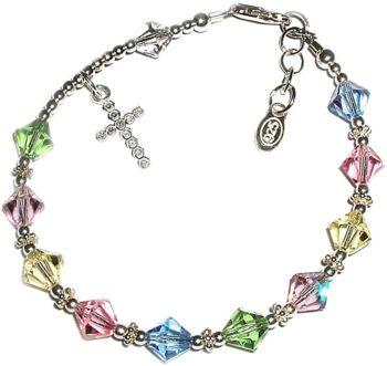 Children's sterling silver bracelets