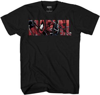 Marvel Logo Spiderman T-Shirt