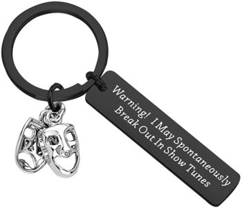 Opera Lover's Keychain