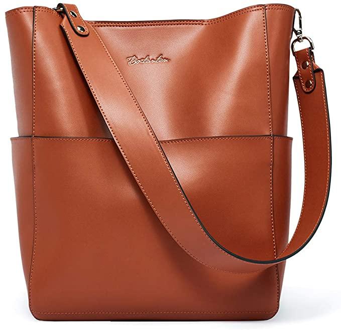9. BOSTANTEN Women's Leather Designer Handbags