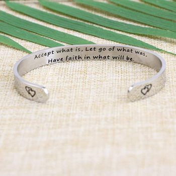 Inspirational Adjustable Bracelet