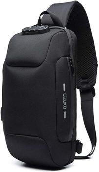 Anti-theft sling bag shoulder cross body backpack