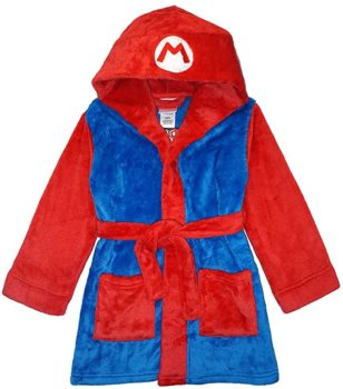 Boy plush robe