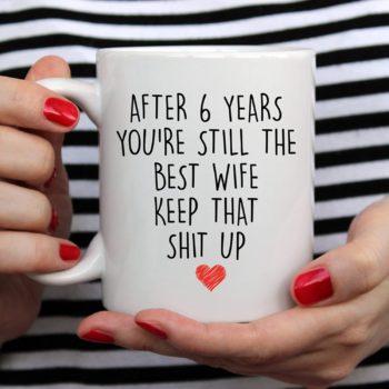 6th Anniversary Coffee Mug