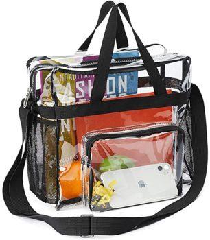 Sports clear bag