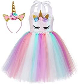 2. Unicorn Dress Up for Girls