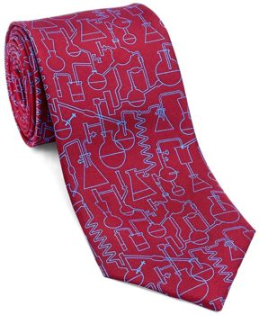 Men's Chemistry and Science Silk Necktie