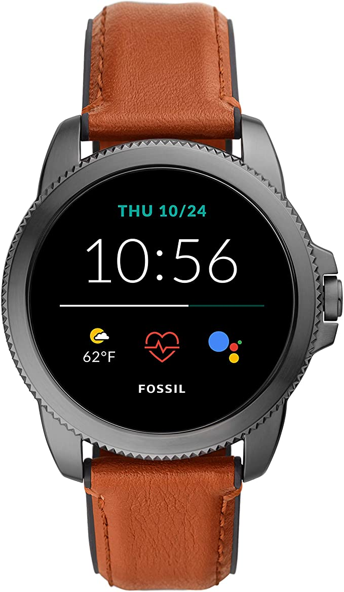 7. Stainless steel touch screen smartwatch