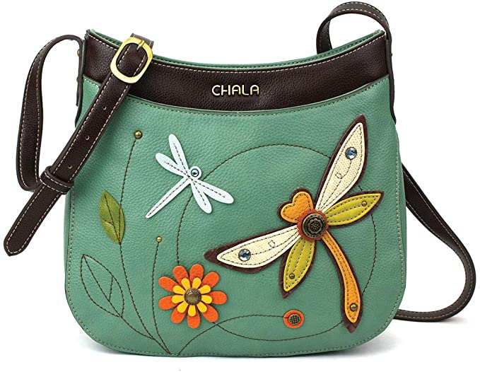 2. Dragonfly Crossbody with Adjustable Strap