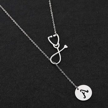 Necklaces with initials