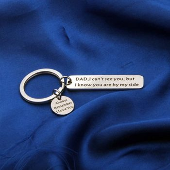 Father Keychain Memorial Gifts