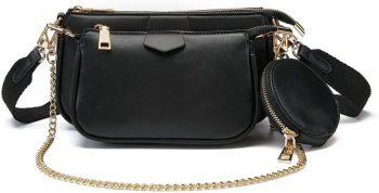 Beautifull Golden Crossbody Bag for Woman