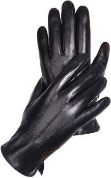 Genuine Black Leather Gloves for Men