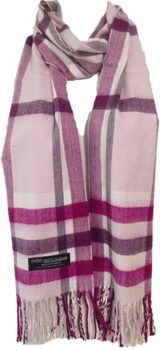Beautifull Real Cashmere Plaid Scarf