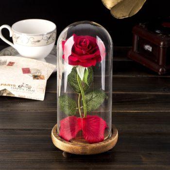 LED Light Rose