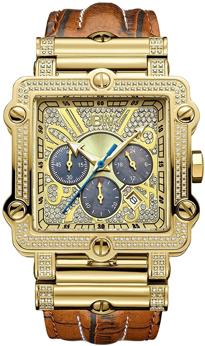 4. JBW Phantom Diamond Wrist Watch