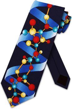 DNA Spiral Tie