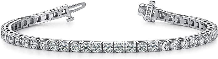 7. Classic Tennis Bracelet