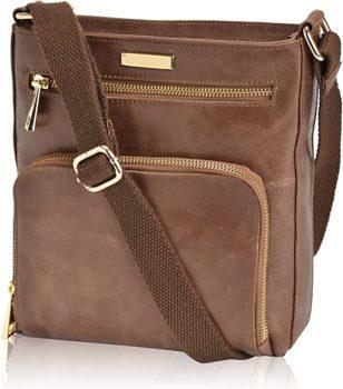 Vintage Adjustable Leather bag