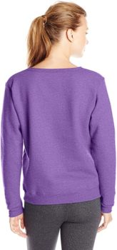 Women's V-shaped wool sweater