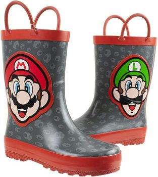 Mario rain Boot for Kids