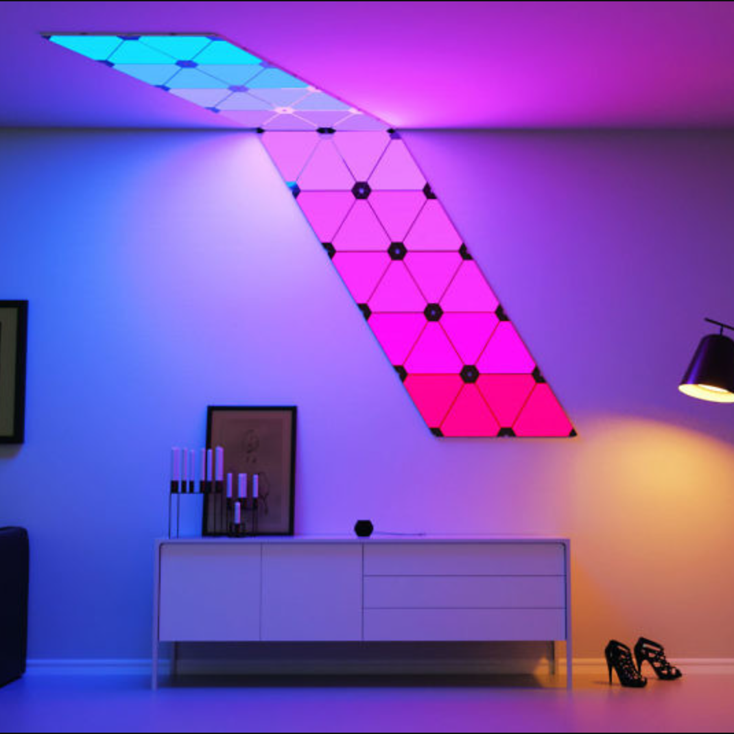 Modular Smart Lighting Panels