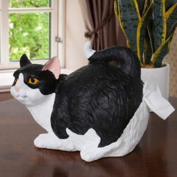 A Cat butt tissue holder
