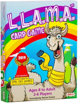 AMIGO Llama Themed Family Card Game