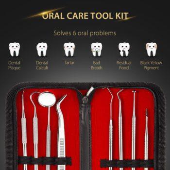 ATMOKO 8 PACK Dental Pick Oral Care Kit