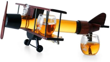 Airplane Whiskey Decanter