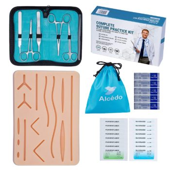 Alcedo Suture Practice Kit for Medical Students