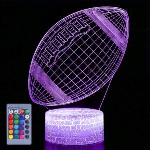 American Football – 3D Illusion Lamp