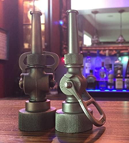 4. Antique Fire Hose Nozzle Bottle Opener