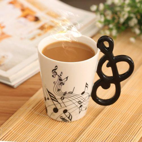 1. BUYNEED's Musical 3D Handle Mug