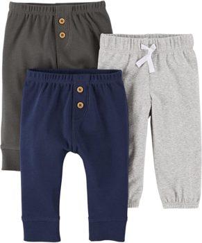 Baby Boys' 3-Pack Pants