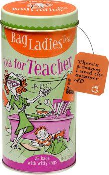 Bag Ladies Teabags for Teacher