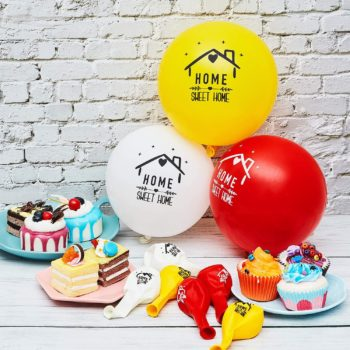 Balloons for family gatherings