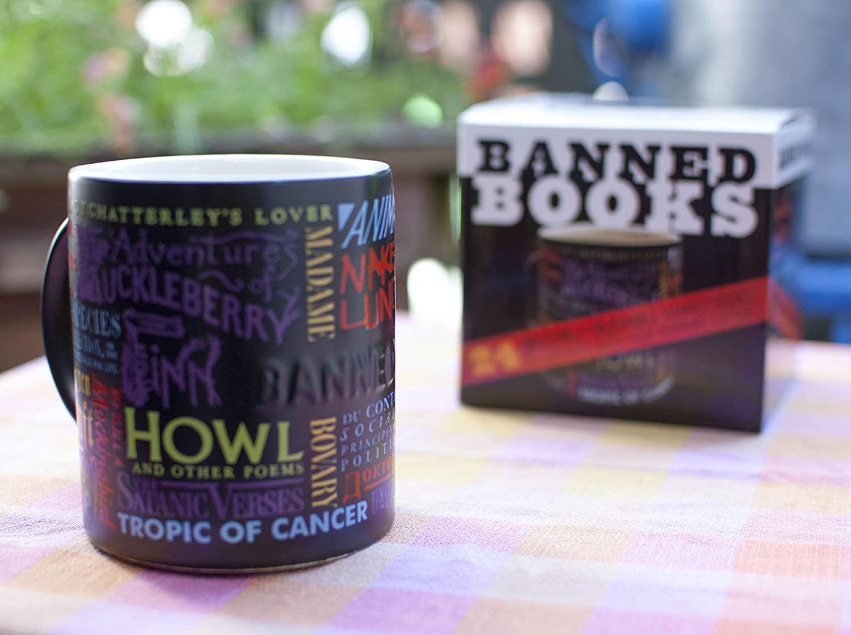 4. Banned Book Coffee Mug