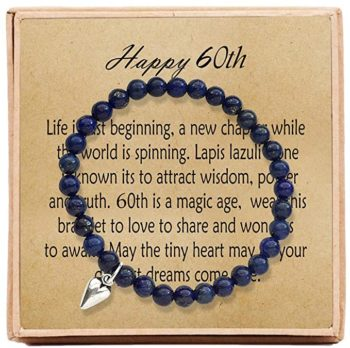 Bead Bracelet with Message Card & Gift Box
