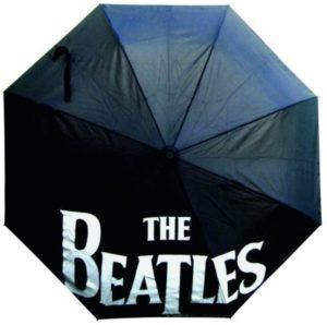 Beatles Black Automatic Umbrella