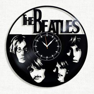 Beatles Vinyl Record Wall Clock