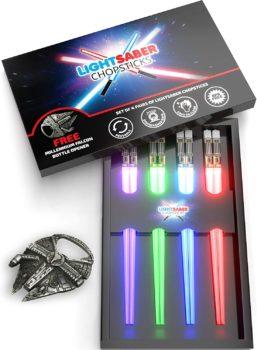 Beautiful Lightsaber Chopsticks